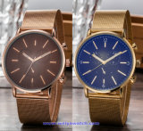 Wristwatch человека OEM изготовленный на заказ, вахта способа кварца, запястье руки наблюдаемое для людей (WY-17016A)