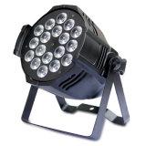 La IGUALDAD profesional 18PCS*10W LED RGBW 4 del LED en 1 Foshan la etapa enciende la luz de la IGUALDAD de PAR64 LED