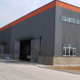 نوع خفيفة صناعيّة بناء تصميم قوس فولاذ بناية
