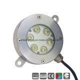 18W DC24V IP68 bajo el agua fuente de luz LED Lámpara de piscina&