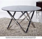 現代円形の大理石のコーヒーテーブルの習慣データ