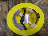 조정가능한 손잡이 (450g)를 가진 PE 일 헬멧 안전 안전모