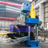 Machine en aluminium hydraulique de presse de remplissage de rebut
