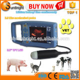 Ultrasonido Handheld tamaño pequeño veterinario del explorador y del veterinario del ultrasonido y ultrasonido veterinario para los animales