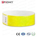 Un accesso di uso di volta ettichetta il Wristband di RFID