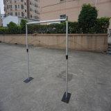Comprar China que el tubo portable cubre el contexto de aluminio de la etapa para la decoración del Weeding