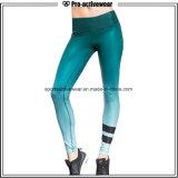 Pantalon de yoga de forme physique de sports de femmes de guêtres de filles d'usine d'OEM