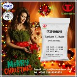 Sulfate de baryum précipité par marque de Loman avec l'utilisation de prix usine pour le pétrole, encre, matériau de peinture