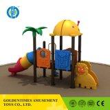 子供のための卸し売り面白い公園の遊び場の屋外の管のスライド