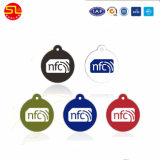 Étiquette époxy imperméable à l'eau de la clé NFC de l'IDENTIFICATION RF 13.56MHz avec Ntag213 216