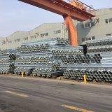S235jr pre/tubo d'acciaio saldato galvanizzato tuffato quadrato/rettangolare/tubo caldo/sezione vuota/Shs/Rhs