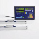 Высокая Precosion 2 оси токарный станок с цифровой индикации 1um магнитных шкалы на токарном станке