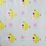 참신 디자인 샤워 커튼은 노란 개구리로 인쇄했다