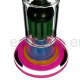 لون قرنفل شفة ضعف اللون الأخضر قبة مرشّح نارجيلة زجاج يدخّن [وتر بيب] ([إس-غب-285])