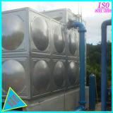Carré en acier inoxydable soudés grand réservoir de stockage de l'eau