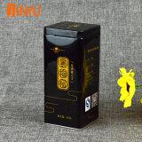 Contenitore del tè nero con il doppio coperchio per 500g