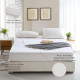 80%の綿20%Polyesterの綿のテリー布の防水マットレスパッド