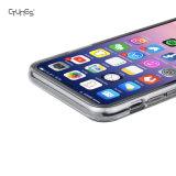 IMDの青い漫画のくらげの印刷TPUの柔らかいゲルの保護カバーはAppleのiPhone Xのための皮を包装する