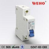Corta-circuito de los productos de calidad mini Dz47-63-10 1p 10A