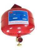 Agente extintor que llena el equipo suspendido FM200 del control