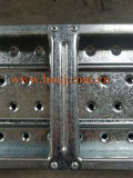 Galvanized Steel Perforated Punt Scaffolding Planks Construction Roll Forming Factory Machine