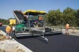 Paver quente da mistura do asfalto genuíno de Shantui da maquinaria de construção