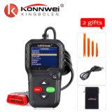 Mini OBD2 scanner diagnostico automatico multifunzionale di nuovo arrivo Konnwe Kw680 in strumento automobilistico di esplorazione del gas dell'automobile diesel russa dell'analizzatore