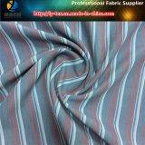 Полиэстер вымыта бархатной ткани в пряжи домашний полосой