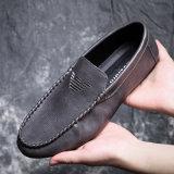 Ботинки кожаный людей PU способа цены по прейскуранту завода-изготовителя мыжские Breathable управляя плоские вскользь