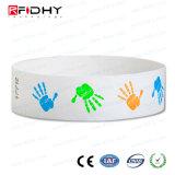 Fabricado na China Tyvek Pulseira RFID para a exposição