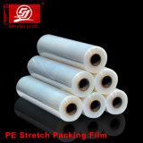 LLDPE 뻗기 필름, 패킹, 뻗기 필름 깔판 포장 1kg를 위한 투명한 뻗기 필름은 LLDPE Strech 필름을 지운다