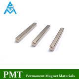 N50 de Magneet van de Zeldzame aarde van de Staaf van 25.4*1.5*1.5 met Magnetisch Materiaal NdFeB