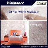 papier peint normal non-tissé du papier peint 3D pour le décor à la maison 0.53*10m