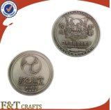 Preiswertes kundenspezifisches Andenken-Herausforderungs-Münzen-Förderung-Feld-alte antike Silbermünzen