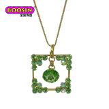 Halsband Van uitstekende kwaliteit van de Charme van de Legering van het Zink van de Verkoop van de fabriek de Directe Zeer belangrijke