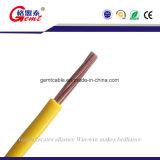 Solo cable eléctrico aislado de la base conductor de cobre sólido