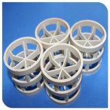 O PVC CPVC PP polipropileno PVDF PTFE Anel Pall de embalagens plásticas para enchimento de embalagem aleatória