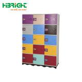 К услугам гостей бассейн пластика ABS шкафчики многоместного водонепроницаемый пластиковый шкафчики