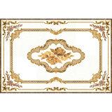 azulejo decorativo de oro de la alfombra de la sala de estar de 1800*1200m m para el suelo
