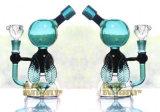 Hunter Plataformas Petrolíferas los tubos de vidrio tubos de vidrio común de los tubos de agua con el recipiente