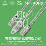 Interruptor del regulador de temperatura para la batería recargable