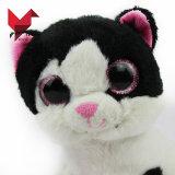Grandi giocattoli del gatto degli occhi della peluche farciti commercio all'ingrosso