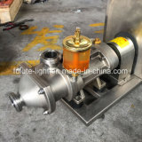 La bomba de doble tornillo de acero inoxidable con embudo (CE aprobado).