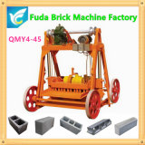 Qmy4-45 Reasonbaleの価格の電気移動可能なセメントのブロック機械