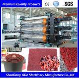 PVC 미끄럼 방지 지면 & 발 매트 플라스틱 밀어남 기계