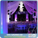 A tubulação portátil e drapeja a tubulação ajustável do casamento da barra transversal e drapeja-a