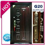 2017年の中国の最上質の外部の金属の鋼鉄機密保護のドア(EF-S132B)