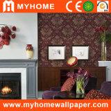 De Bloem van het Behang van het Damast van de Decoratie van het huis met Hoogwaardig