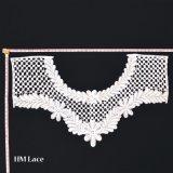 Collana del Crochet, merletto Neckpiece, collare bianco del Crochet, collare di stile dell'annata, retro collare, collare bianco del Knit
