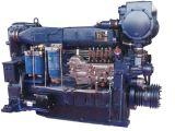 Vesslまたは船の手前側にある海洋エンジンのためのWeichaiの海洋のディーゼル機関